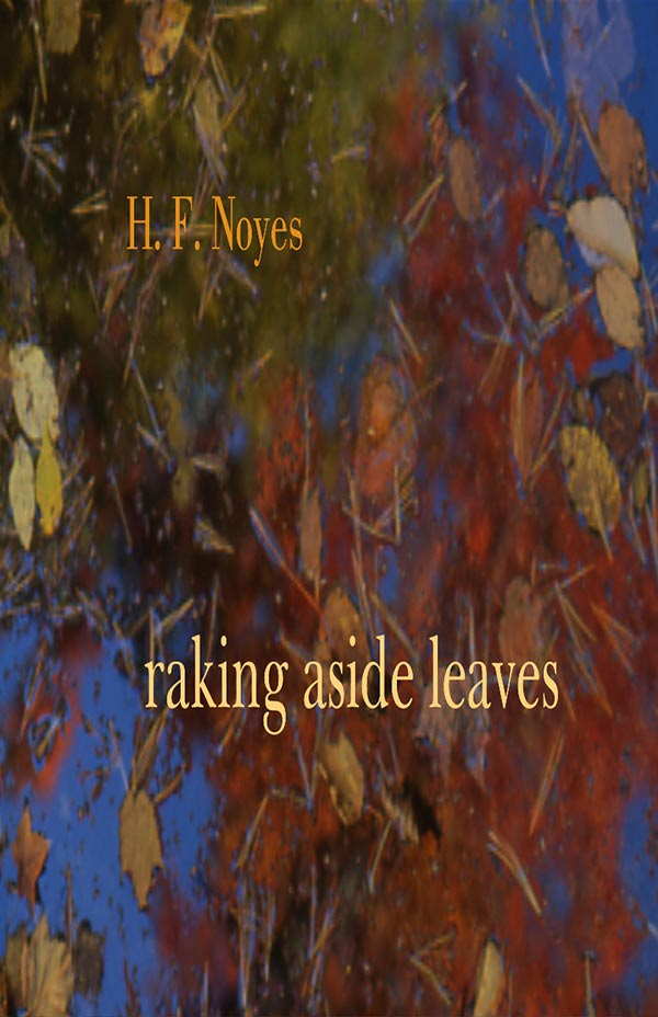 Raking Aside Leaves, Haiku By H. F. Noyes